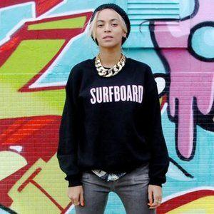 Beyonce Surfboard Crew Neck Sweatshirt